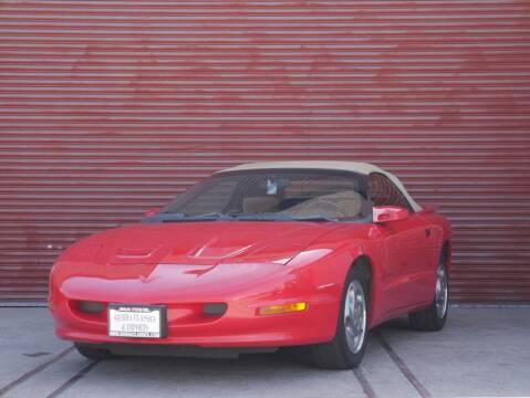 1995 Pontiac Firebird for sale at Sierra Classics & Imports in Reno NV