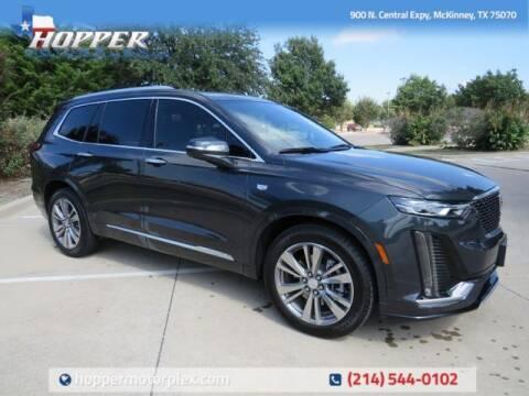 2021 Cadillac XT6 for sale at HOPPER MOTORPLEX in Mckinney TX