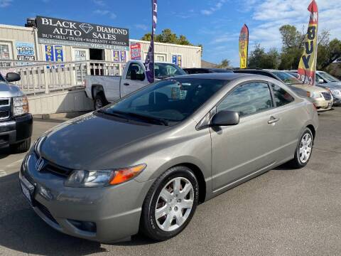 2007 Honda Civic for sale at Black Diamond Auto Sales Inc. in Rancho Cordova CA