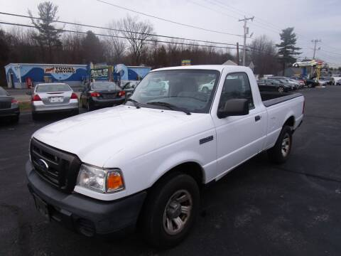 2011 Ford Ranger for sale at Route 12 Auto Sales in Leominster MA