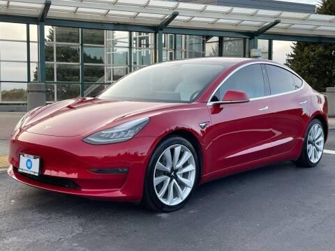 2018 Tesla Model 3 for sale at GO AUTO BROKERS in Bellevue WA