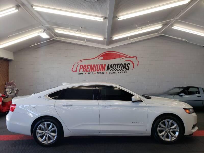 2016 Chevrolet Impala for sale at Premium Motors in Villa Park IL