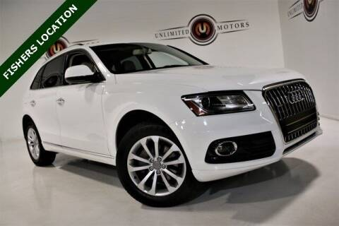 2016 Audi Q5 for sale at Unlimited Motors in Fishers IN