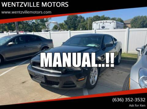 2014 Ford Mustang for sale at WENTZVILLE MOTORS in Wentzville MO