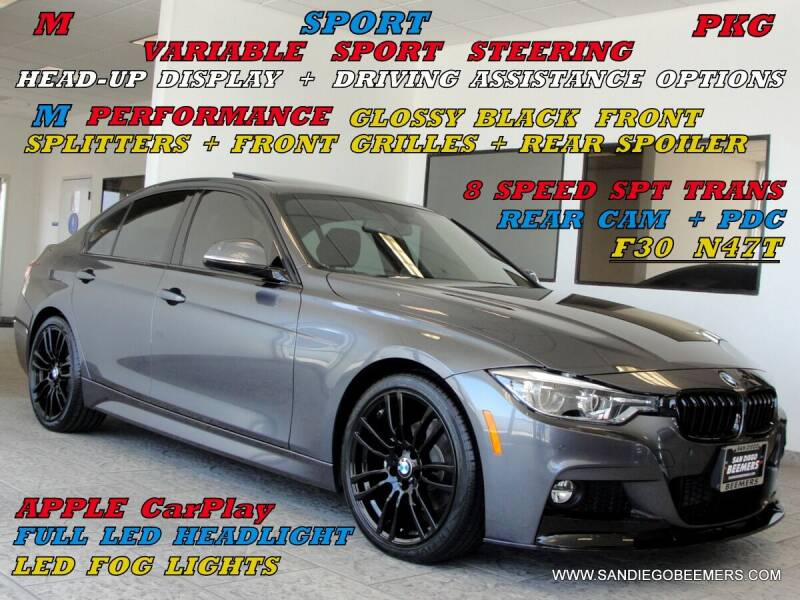 2018 BMW 3 Series for sale at SAN DIEGO BEEMERS in San Diego CA