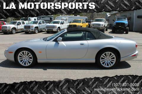 2005 Jaguar XK-Series for sale at LA MOTORSPORTS in Windom MN