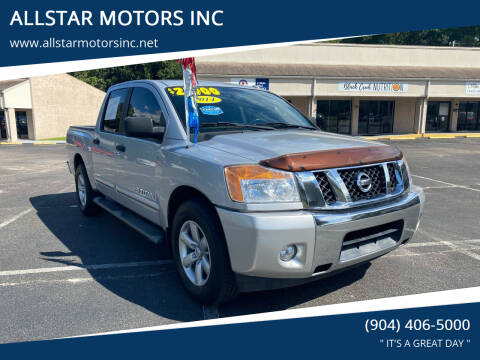 2014 Nissan Titan for sale at ALLSTAR MOTORS INC in Middleburg FL