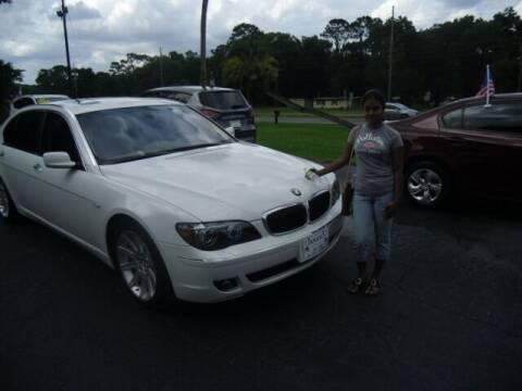 2006 BMW 7 Series for sale at HOGSTEN AUTO WHOLESALE in Ocala FL