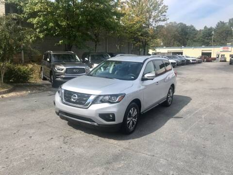 2020 Nissan Pathfinder for sale at Five Brothers Auto Sales in Roswell GA