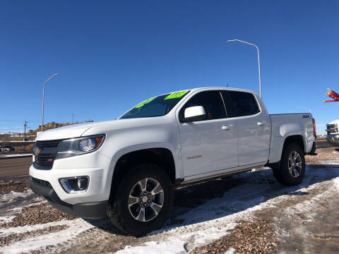 2018 Chevrolet Colorado for sale at 1st Quality Motors LLC in Gallup NM