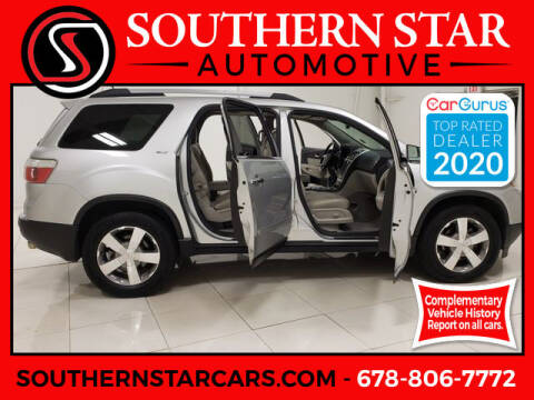 2011 GMC Acadia for sale at Southern Star Automotive, Inc. in Duluth GA