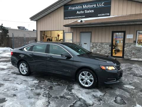 2015 Chevrolet Impala for sale at Franklin Motors in Franklin WI