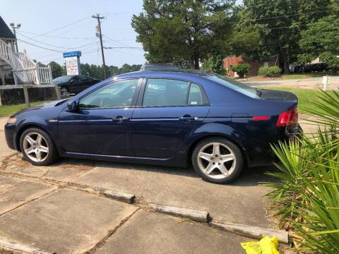 2006 Acura TL for sale at Moore's Motors in Durham NC