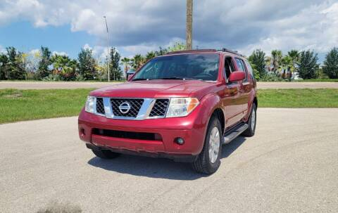 2006 Nissan Pathfinder for sale at FLORIDA USED CARS INC in Fort Myers FL
