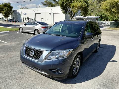 2015 Nissan Pathfinder for sale at Best Price Car Dealer in Hallandale Beach FL