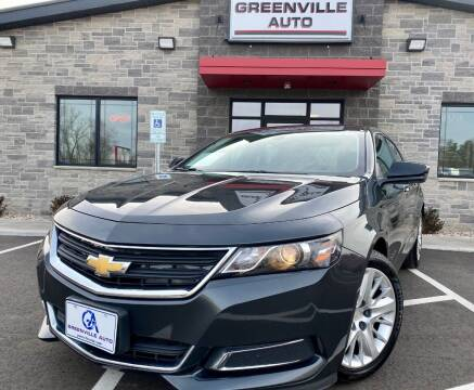 2018 Chevrolet Impala for sale at GREENVILLE AUTO & RV in Greenville WI