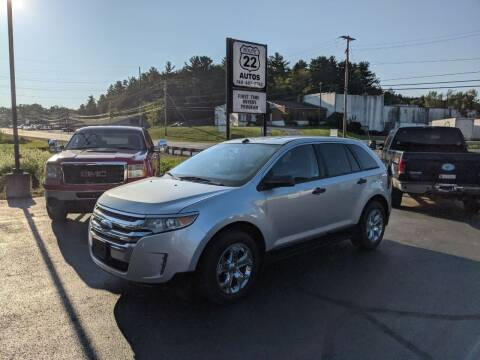 2013 Ford Edge for sale at Route 22 Autos in Zanesville OH