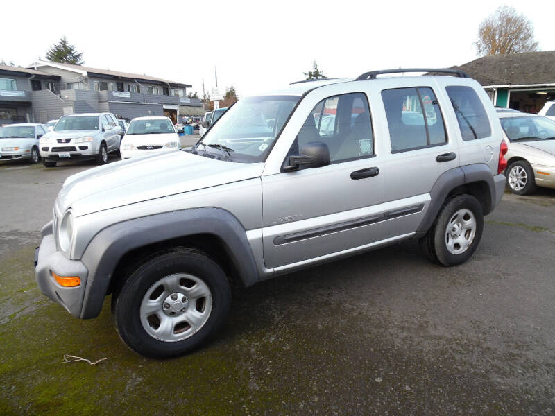 2004 Jeep Liberty for sale at Gary's Cars & Trucks in Port Townsend WA