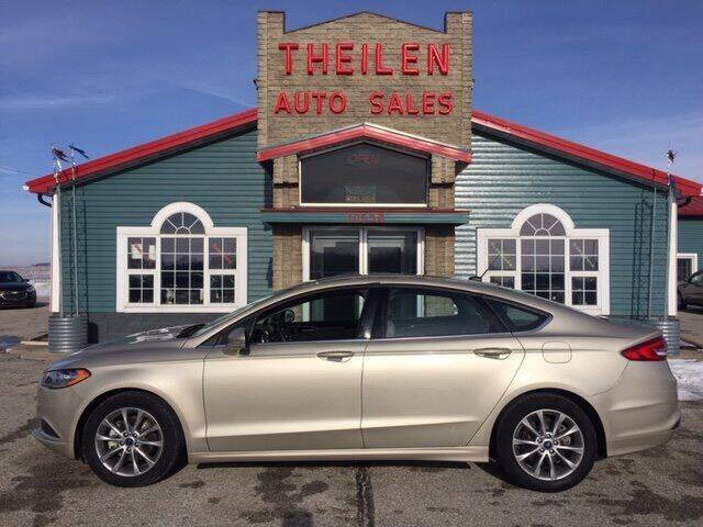 2017 Ford Fusion for sale at THEILEN AUTO SALES in Clear Lake IA