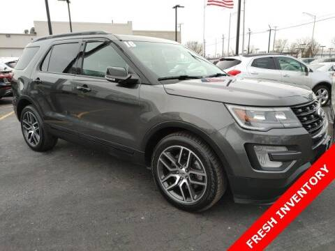 2016 Ford Explorer for sale at Rizza Buick GMC Cadillac in Tinley Park IL