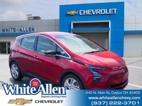 2022 Chevrolet Bolt EV for sale at WHITE-ALLEN CHEVROLET in Dayton OH