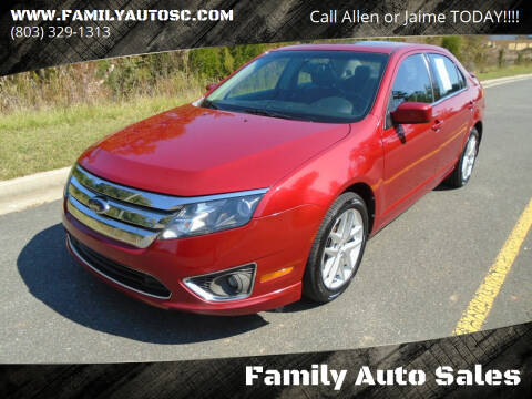 2010 Ford Fusion for sale at Family Auto Sales in Rock Hill SC