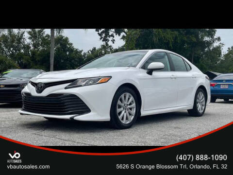 2019 Toyota Camry for sale at V & B Auto Sales in Orlando FL