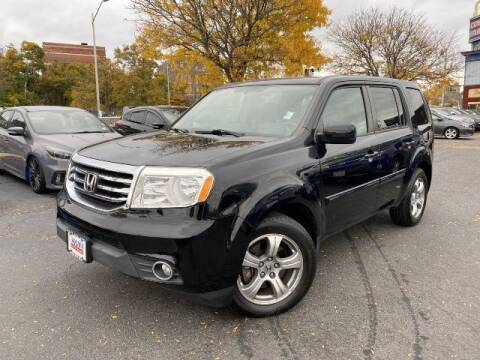 2015 Honda Pilot for sale at Sonias Auto Sales in Worcester MA