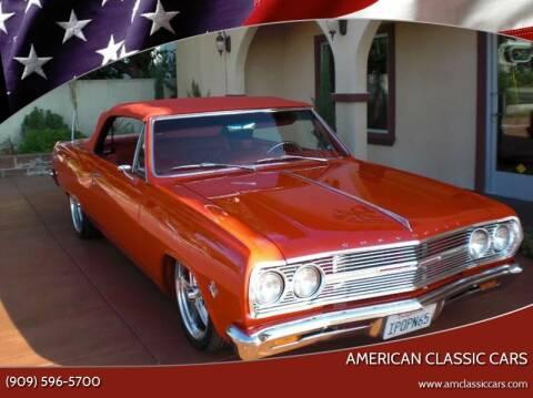 1965 Chevrolet Malibu for sale at American Classic Cars in La Verne CA