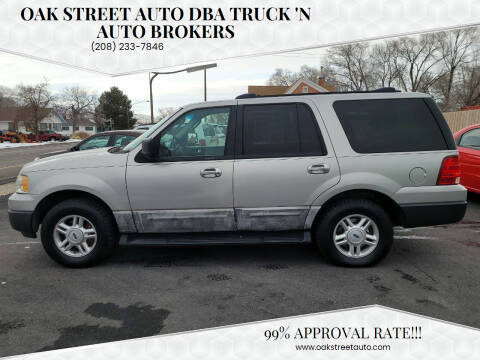 2004 Ford Expedition for sale at Oak Street Auto DBA Truck 'N Auto Brokers in Pocatello ID
