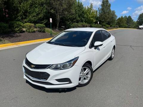 2016 Chevrolet Cruze for sale at Aren Auto Group in Sterling VA