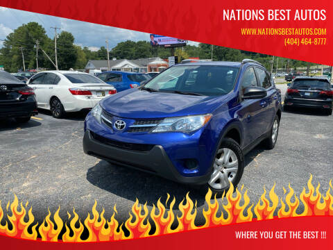 2015 Toyota RAV4 for sale at Nations Best Autos in Decatur GA