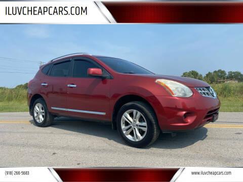 2012 Nissan Rogue for sale at ILUVCHEAPCARS.COM in Tulsa OK