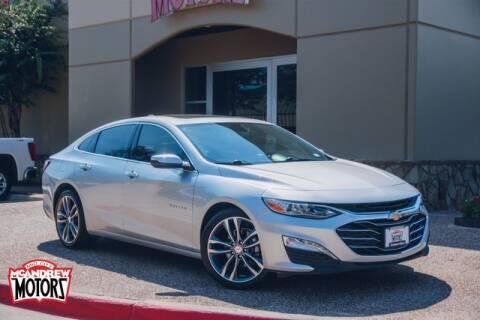 2020 Chevrolet Malibu for sale at Mcandrew Motors in Arlington TX