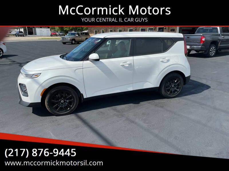 2020 Kia Soul for sale at McCormick Motors in Decatur IL