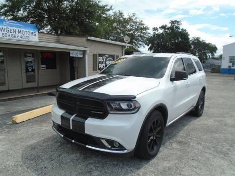 2014 Dodge Durango for sale at New Gen Motors in Bartow FL