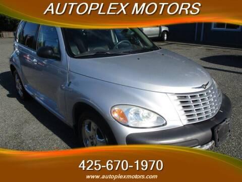 2001 Chrysler PT Cruiser for sale at Autoplex Motors in Lynnwood WA