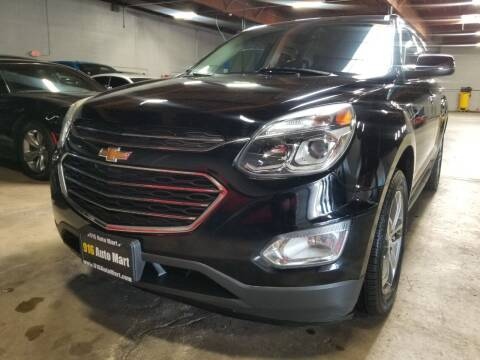 2016 Chevrolet Equinox for sale at 916 Auto Mart ONLY $399 DOWN!!!* in Sacramento CA