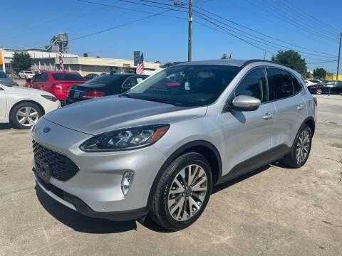 2020 Ford Escape for sale at P J Auto Trading Inc in Orlando FL