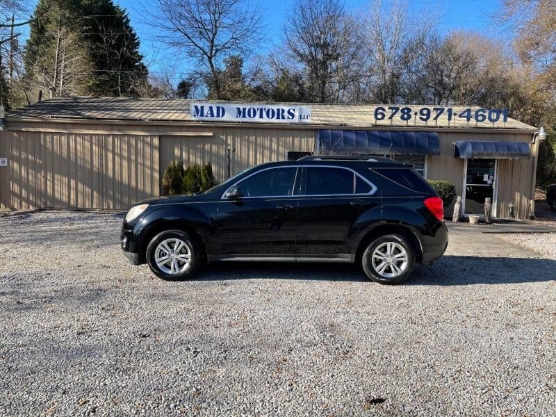 2011 Chevrolet Equinox for sale at Mad Motors LLC in Gainesville GA