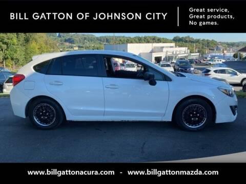 2015 Subaru Impreza for sale at Bill Gatton Used Cars - BILL GATTON ACURA MAZDA in Johnson City TN