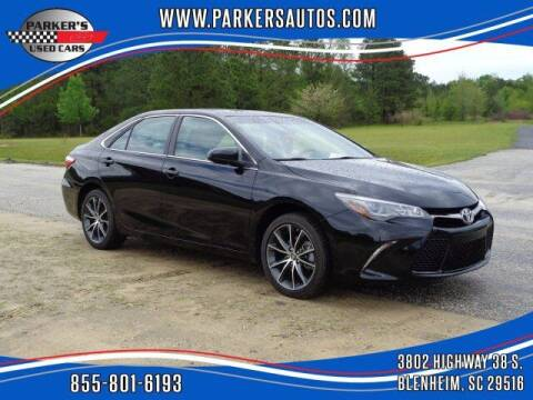 2017 Toyota Camry for sale at Parker's Used Cars in Blenheim SC