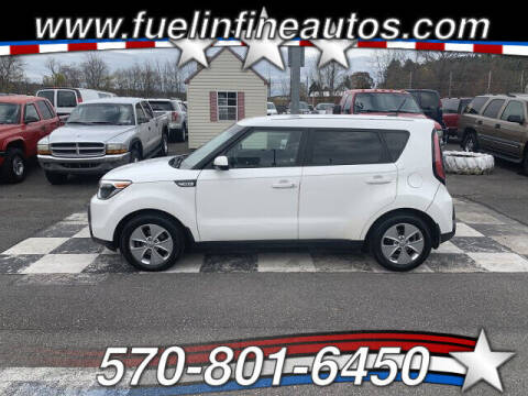 2015 Kia Soul for sale at FUELIN FINE AUTO SALES INC in Saylorsburg PA
