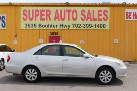 2004 Toyota Camry for sale at Super Auto Sales in Las Vegas NV