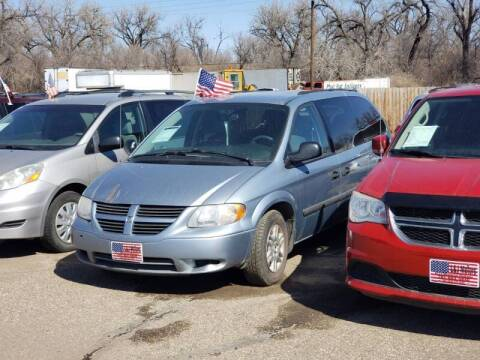 2005 Dodge Grand Caravan for sale at L & J Motors in Mandan ND