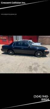 2004 Ford Crown Victoria for sale at Crescent Collision Inc. in Jefferson LA