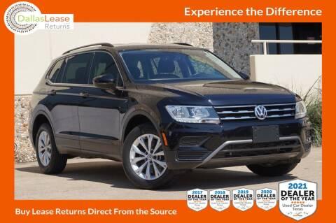 2019 Volkswagen Tiguan for sale at Dallas Auto Finance in Dallas TX