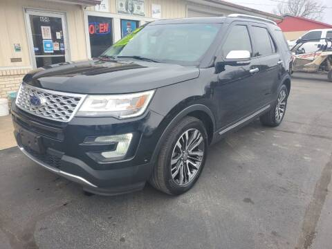 2016 Ford Explorer for sale at Bailey Family Auto Sales in Lincoln AR