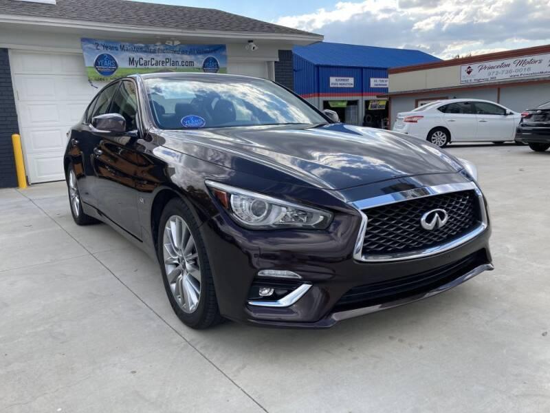 2018 Infiniti Q50 for sale at Princeton Motors in Princeton TX