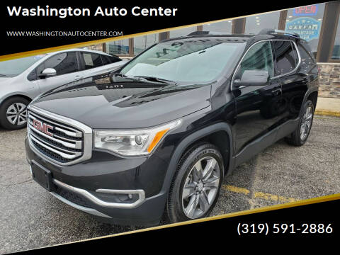 2018 GMC Acadia for sale at Washington Auto Center in Washington IA